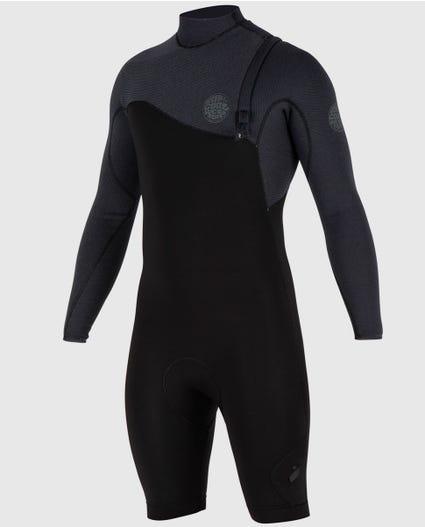 E-Bomb Pro L/S Zip Free Springsuit in Black