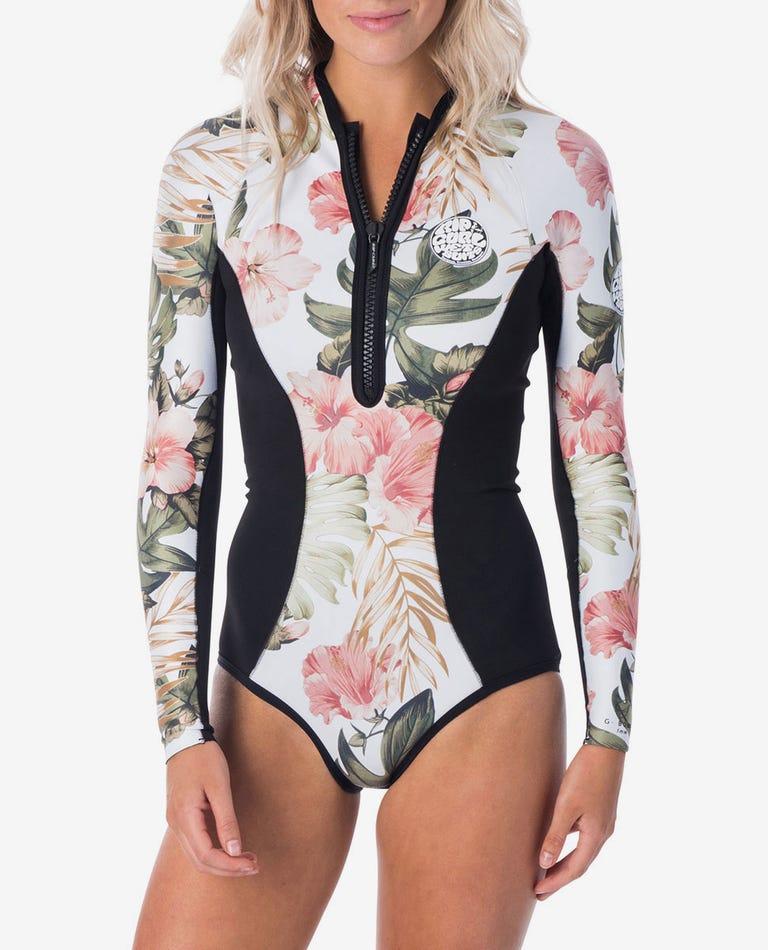 G-Bomb Bikini Cut Springsuit Wetsuit in White