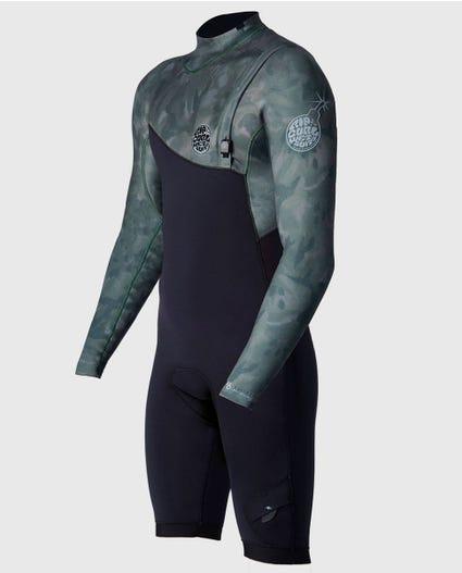 E-Bomb L/S Springsuit Wetsuit in Camo