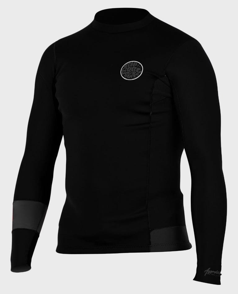 Aggrolite 1.5mm L/S Jacket in Charcoal