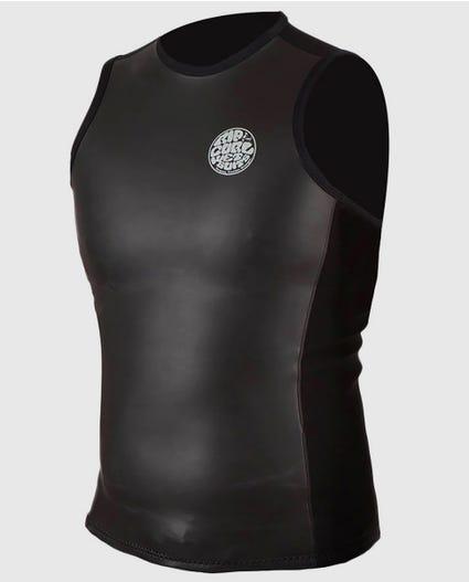 Aggrolite 1.5mm Smoothy Vest in Black