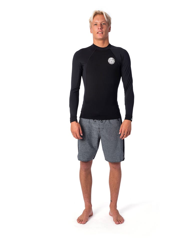 Flashbomb 0.5mm Long Sleeve Wetsuit Jacket in Black