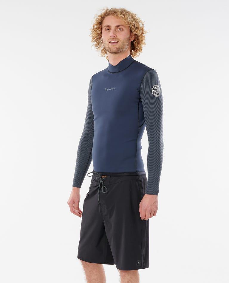 Dawn Patrol 1.5 mm Reversible Eco Wetsuit Jacket in Slate