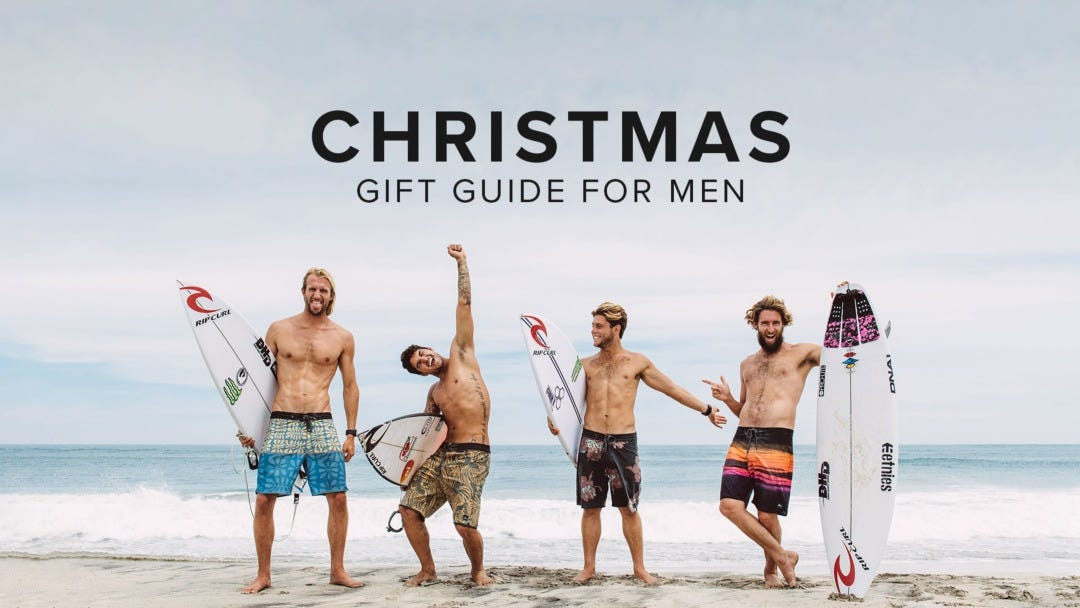 The Best Christmas Gifts For Surfers: Our Men's Gift Guide