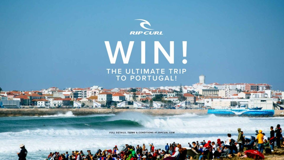 Win the Ultimate Surf Trip to Portugal!
