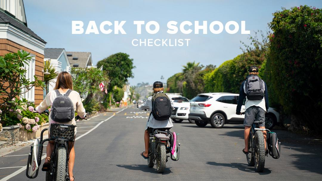 The Back to School Checklist