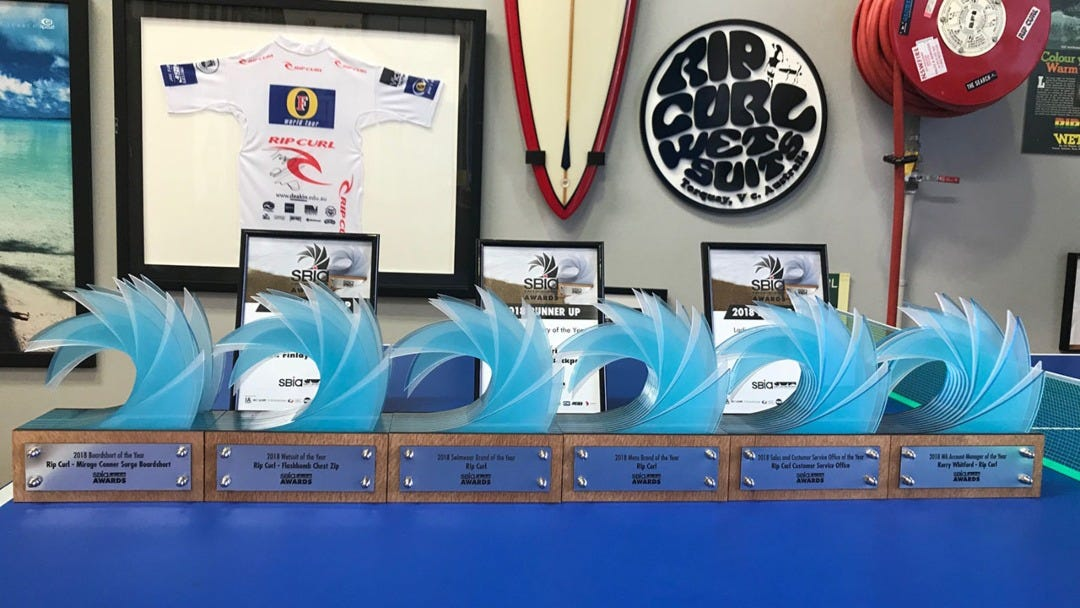 Rip Curl Triumphed At The 2018 SBIA Awards, Presented With 6 Awards And 3 Nominations.