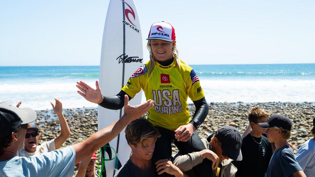Team Rip Curl Takes On the 2021 USA Surfing Championships