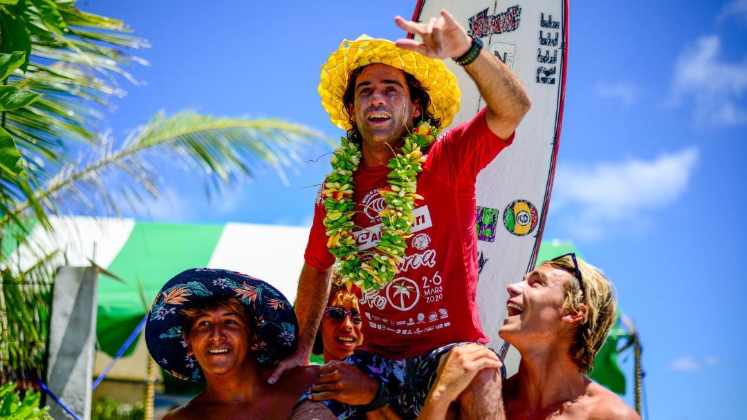 Mason Ho Wins the Air Tahiti Rangiroa Pro 11th Edition
