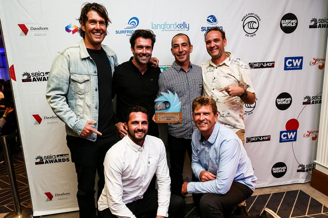Rip Curl Cleans Up At The SBIA Awards With 10 Awards And 5 Runner-Ups