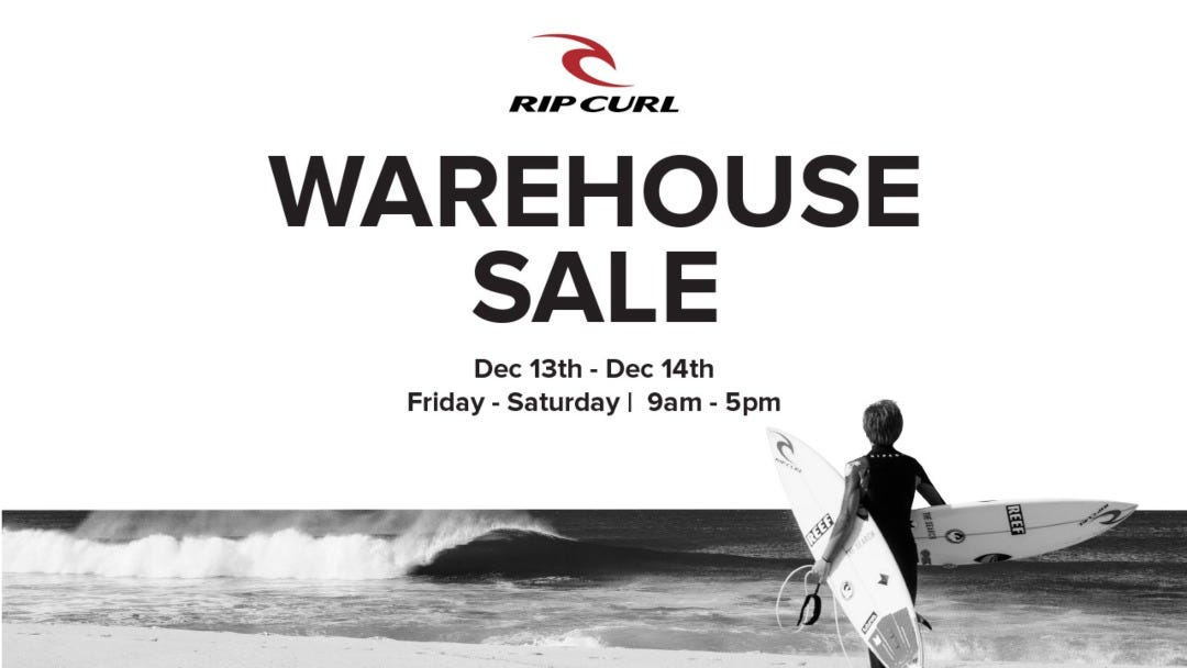 Winter Warehouse Sale is ON!