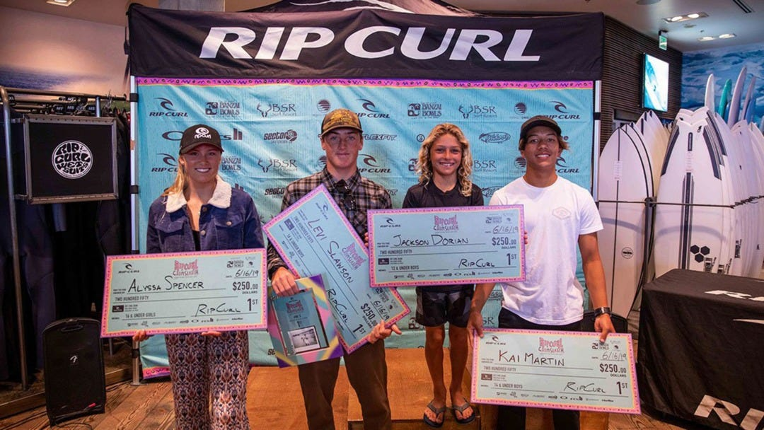 Huntington Beach Serves Up 2 Days of Ripping for the Rip Curl Gromsearch Stop 1!