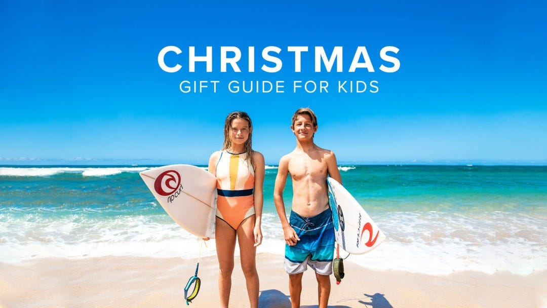 The Best Christmas Gifts For Surfers: Our Kid's Gift Guide