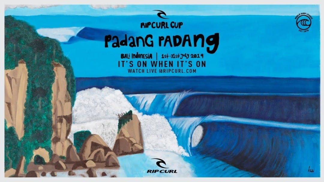 Countdown To Rip Curl Cup Begins, Mick Fanning Makes His Padang Padang Picks