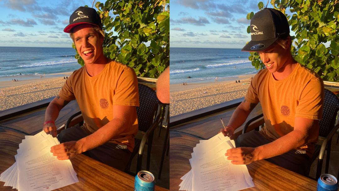 Morgan Cibilic Cements His Spot on The Rip Curl Team for Another Three Years.