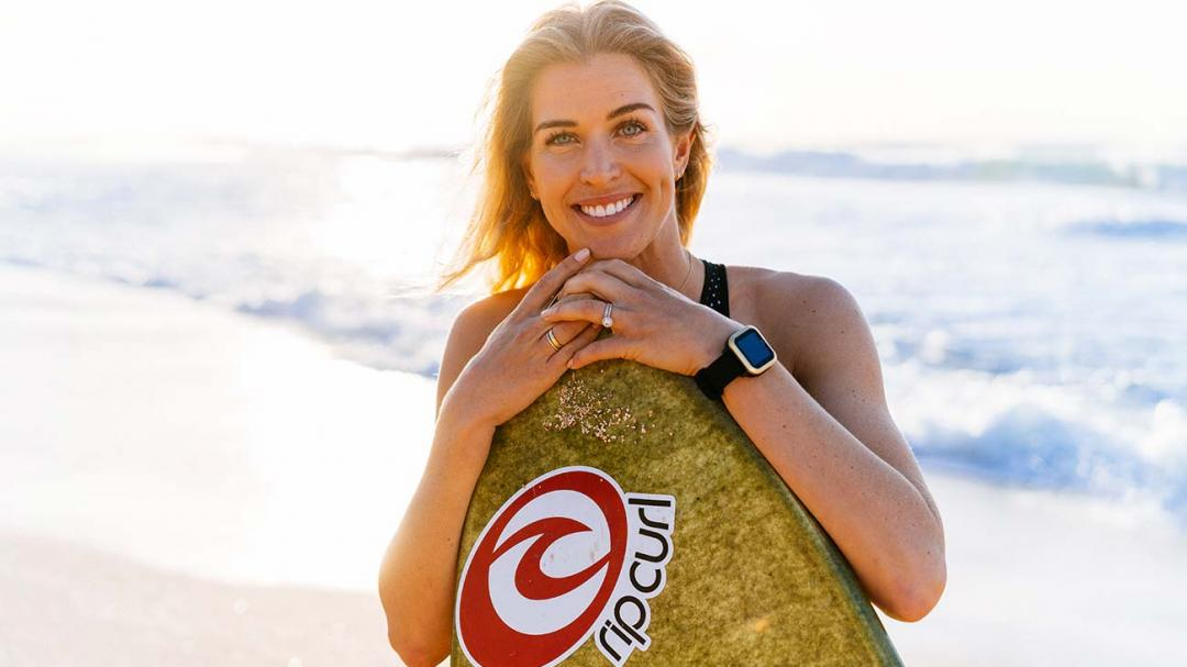 The Ideal Mother's Day According to First Time Mama and Longtime Surfer, Rosy Hodge.