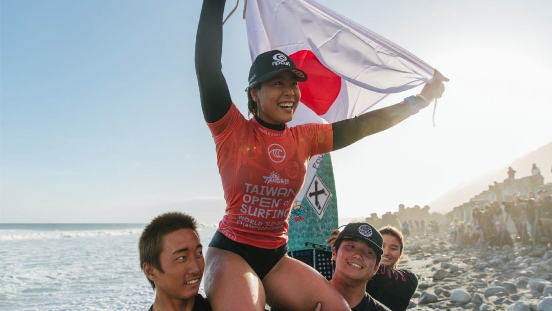 Amuro Tsuzuki is the 2019 WSL World Junior Champion