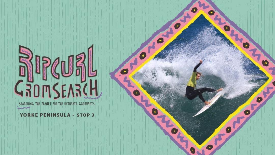 Yorke Peninsula Rip Curl GromSearch Goes Off In Pumping Waves