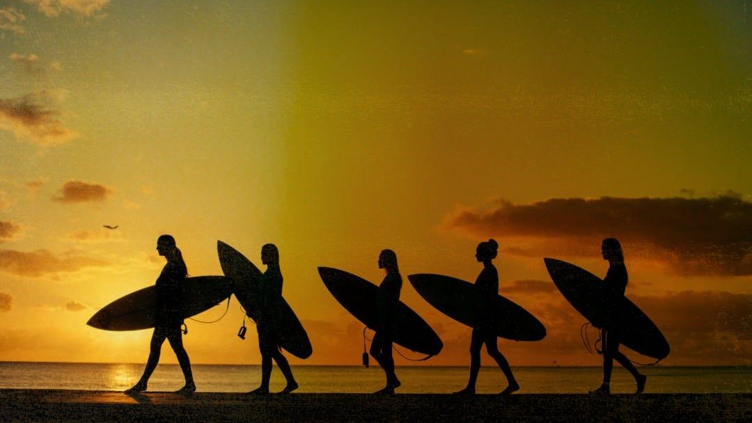 Rip Curl Women Take On Hawaii