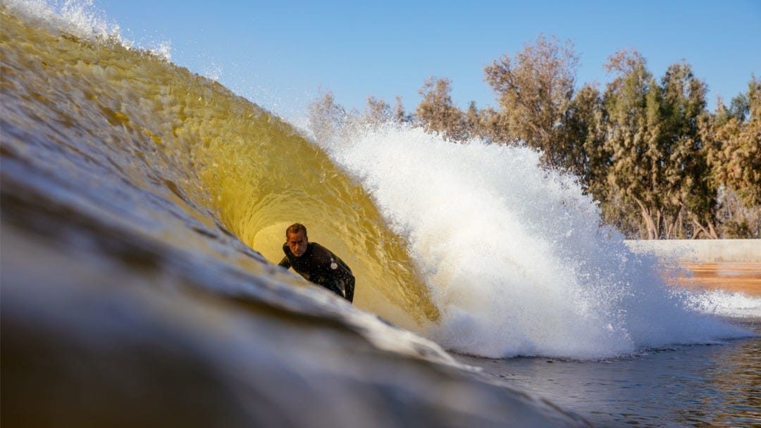 Tom Curren Heads to the Surf Ranch