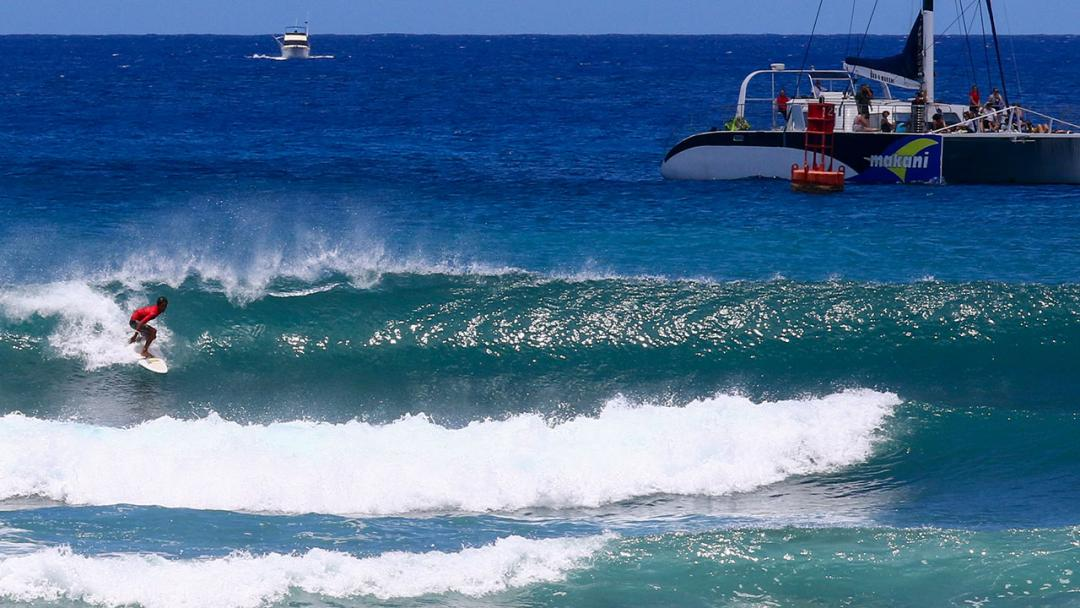 Hawaiian Qualifiers Met with Idyllic Kewalos Conditions for GromSearch Stop #2