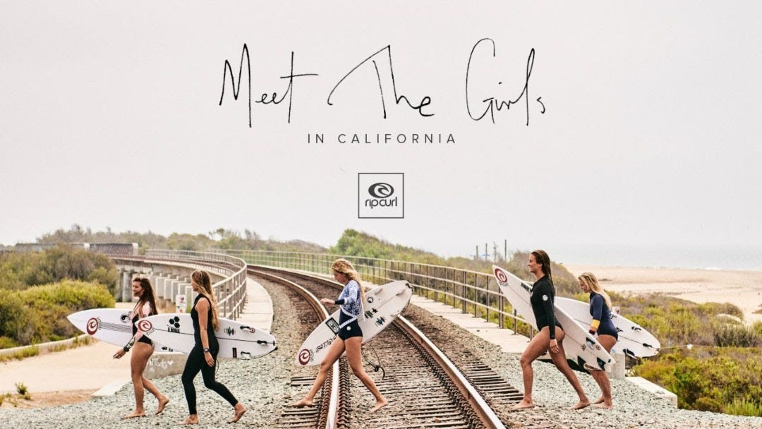 Rip Curl Women | A Day In The Life At Trestles, California