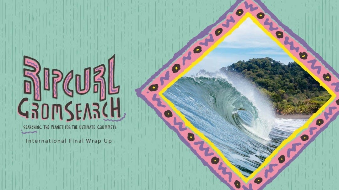 The 2020 GromSearch International Final to be Held at the Rip Curl Pro Bells Beach