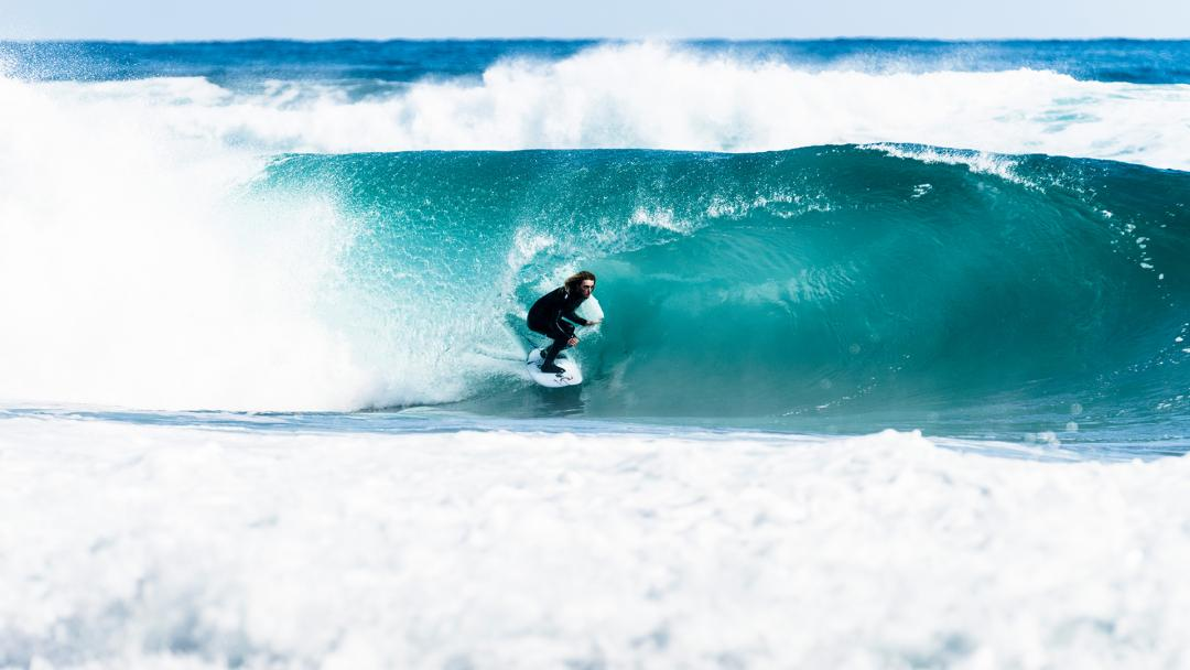 Louie Hynd Trades the Gold Coast for Something More Secluded.