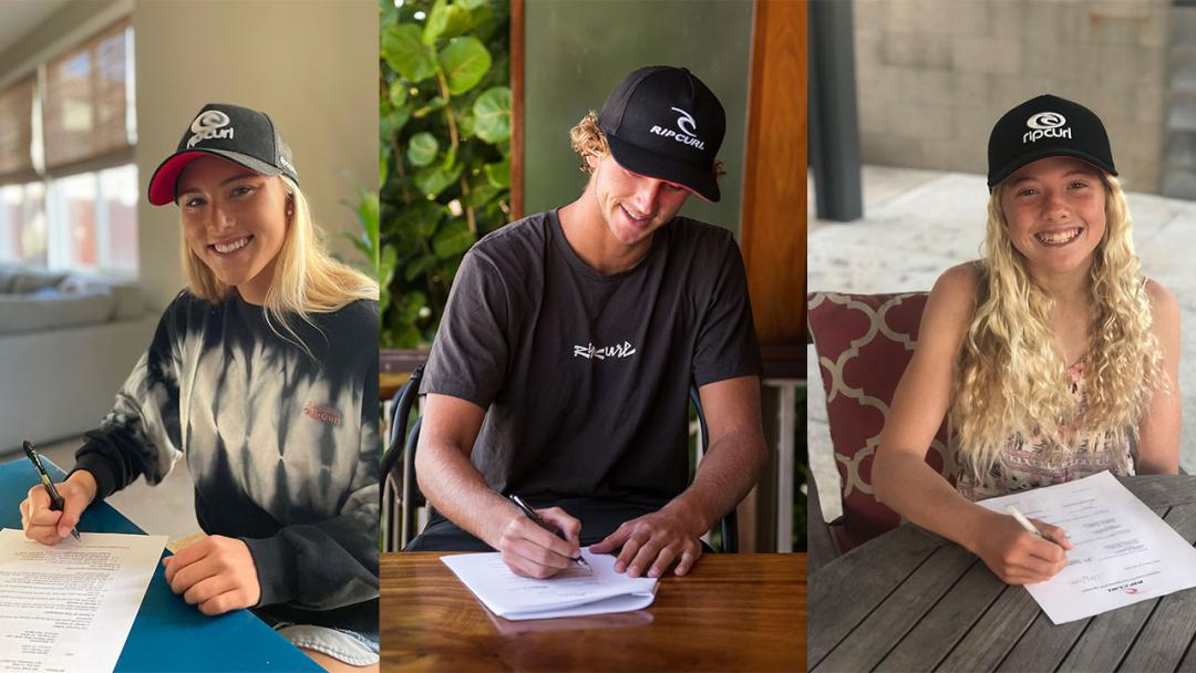 Rip Curl Re-Signs Next Generation of American Talent: Brooks, Spencer, Colapinto