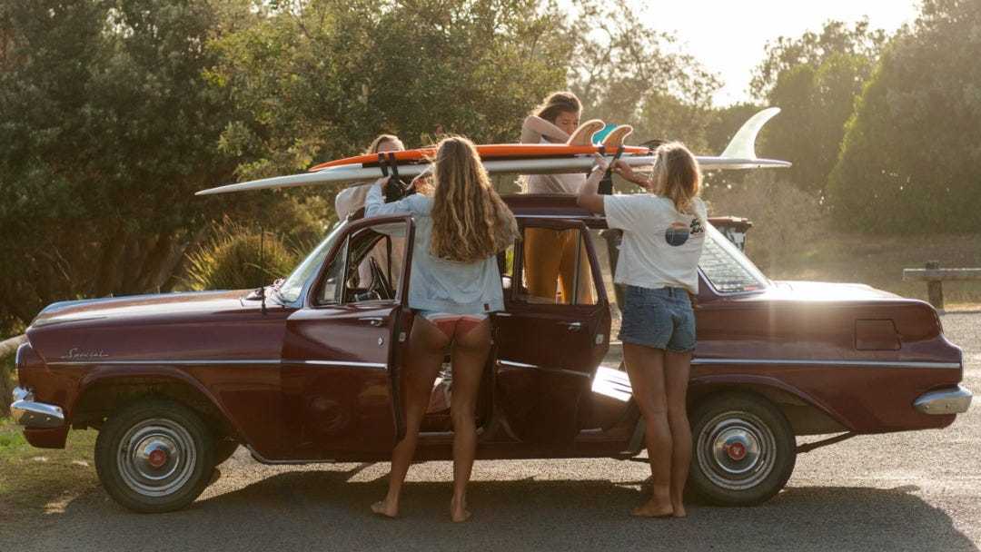 Road Tripping Back In Time with Surf Revival