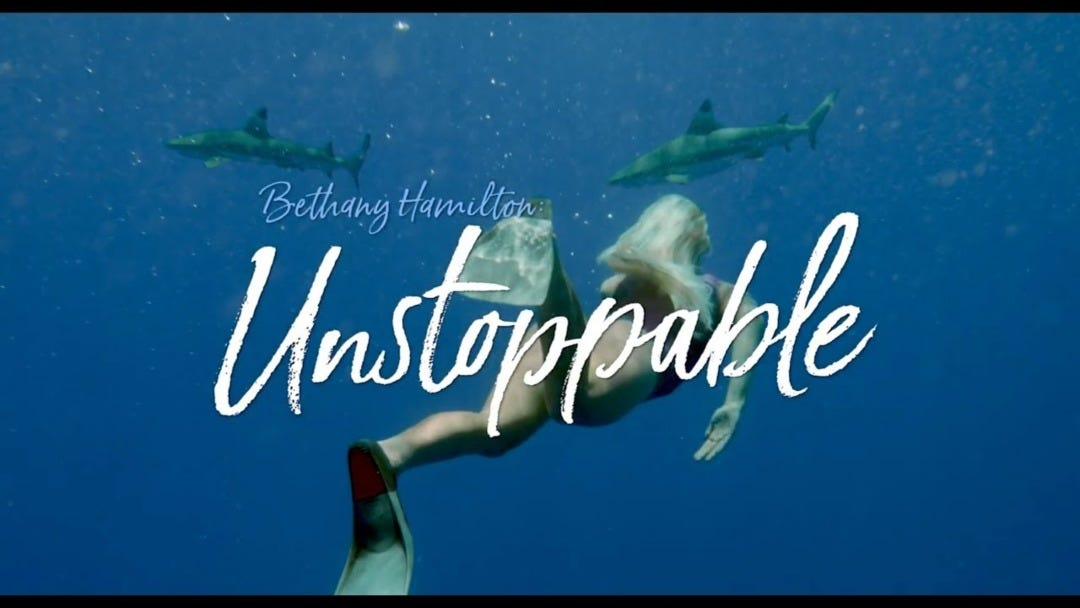 Bethany Hamilton's New Movie Unstoppable Hits Theatres on July 12, 2019