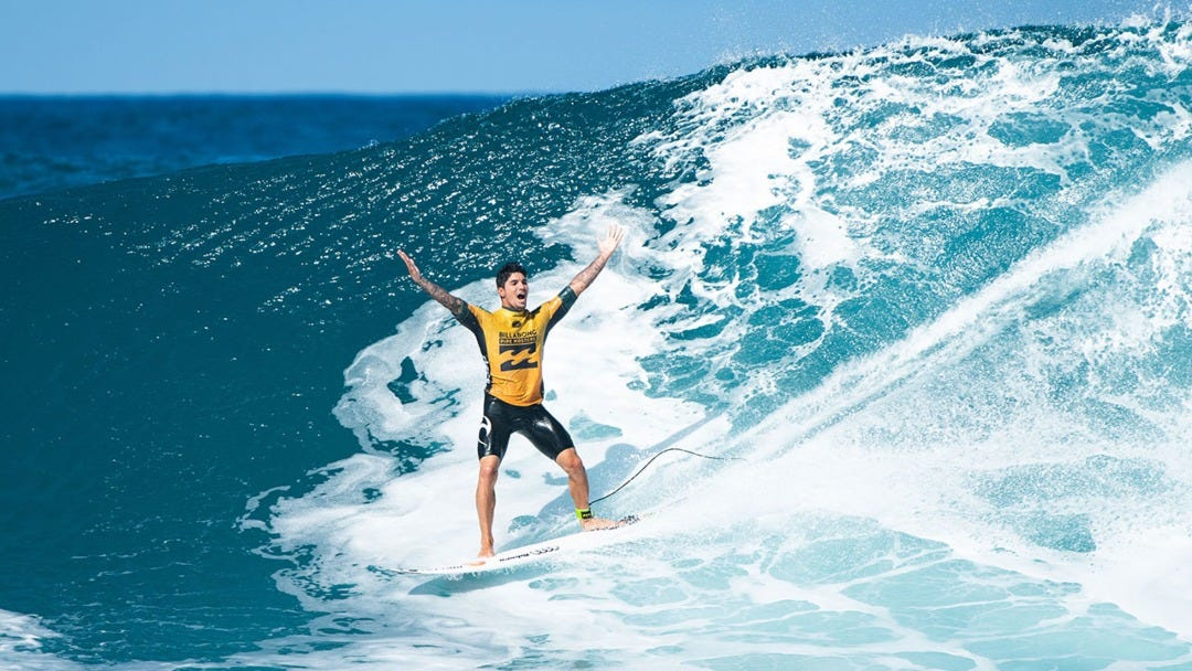 Gabriel Medina Wins 2018 Pipe Masters And Becomes 2018 WSL World Champion