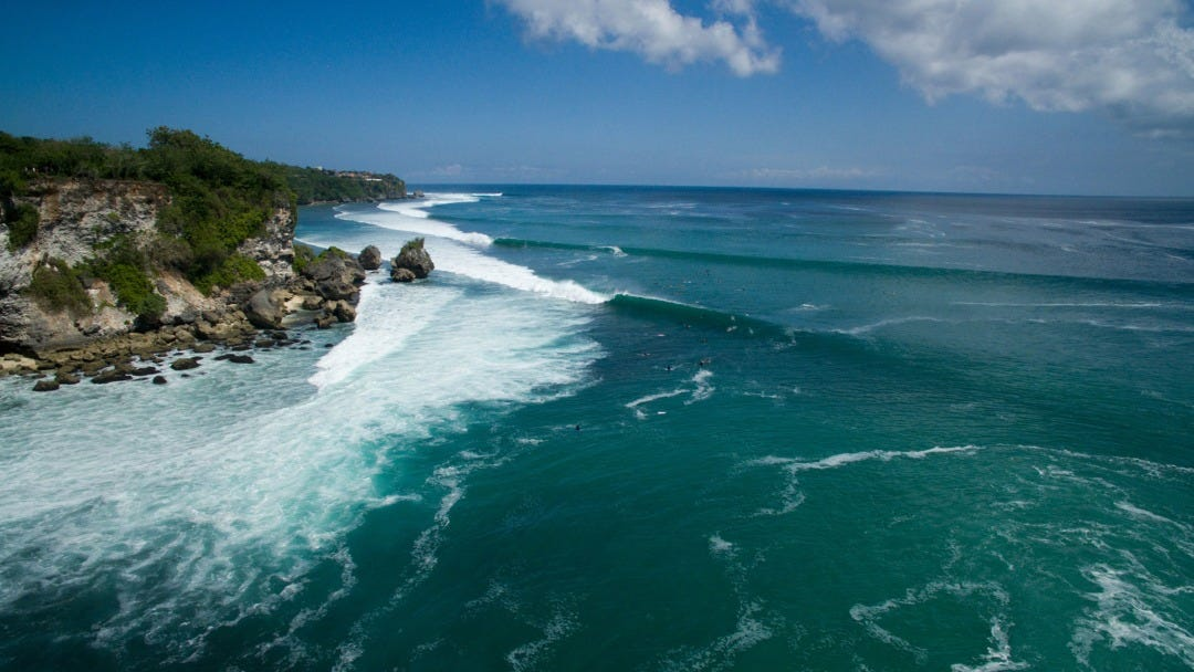 The Rip Curl Cup Padang Padang is On