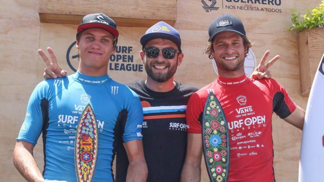 Luke Gordon Wins the WSL QS Acapulco 1000 in Playa Revolcadero