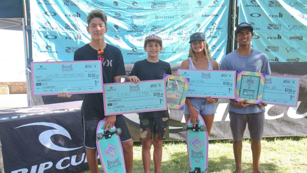 Kewalos Provides Record Breaking Conditions for Stop 2 of the 2019 Rip Curl Gromsearch