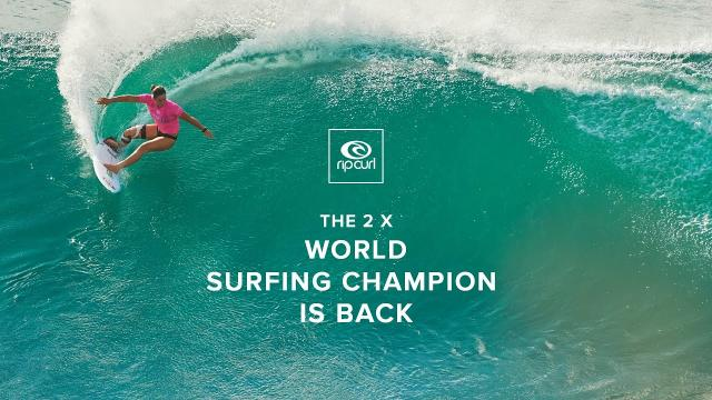 2x World Champion Tyler Wright to Compete in the lululemon Maui Pro