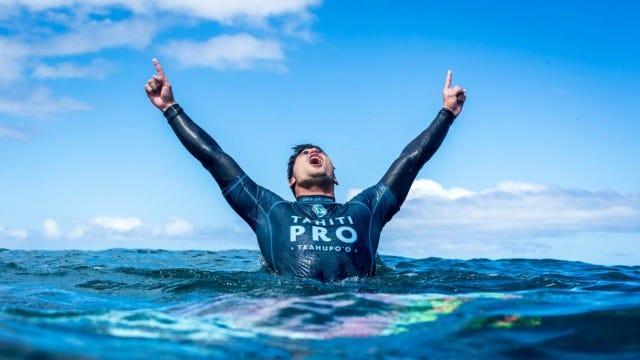 Gabriel Medina Wins The 2018 Tahiti Pro Teahupo'o, Owen Wright Places Second