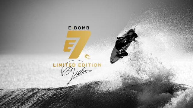 Limited Edition Rip Curl E-Bomb E7. Made By Rip Curl World Champions Mick Fanning, Tyler Wright And Gabriel Medina