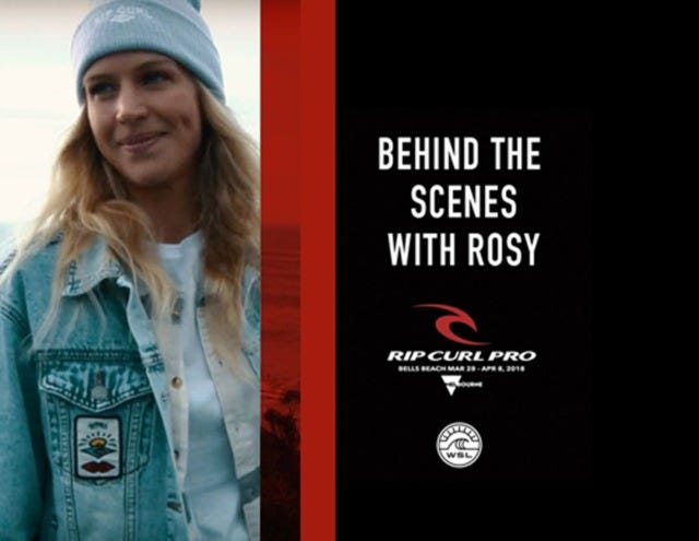 A Behind The Scenes Tour Of The Rip Curl Pro Bells Beach, With Rosy Hodge