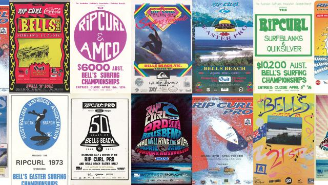 Rip Curl Presents: Rip Curl Pro, Through the Decades