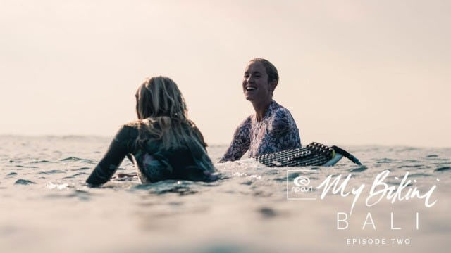 Reef Cuts, Monkeys And Barrels: Join In On The #MyBikini Mayhem With Our Rip Curl Women In Bali