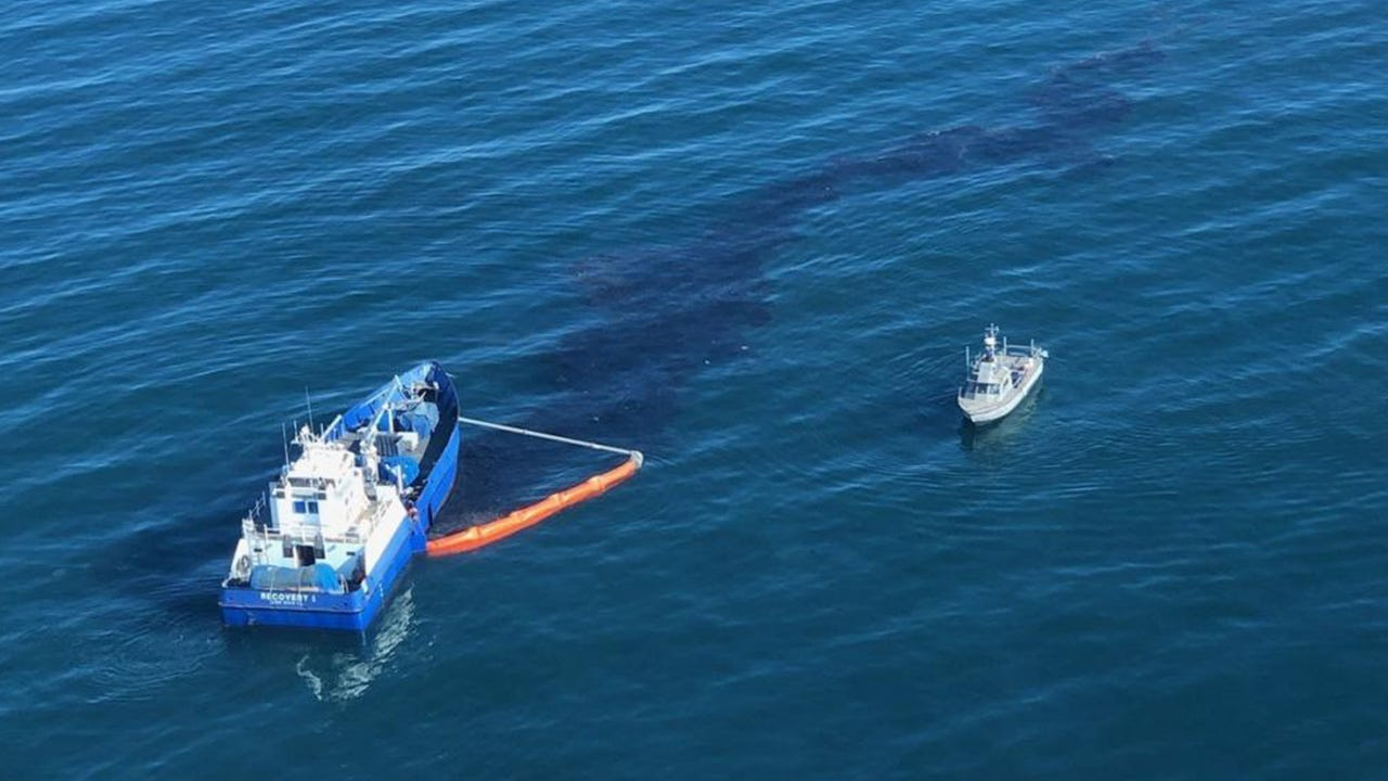 Oil Spill Cleanup Efforts