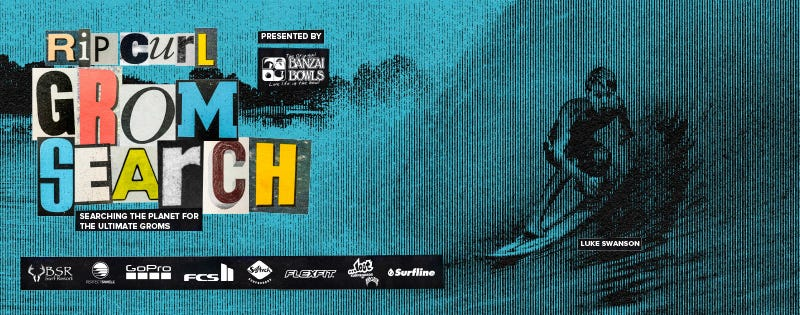 2020 Rip Curl GromSearch Poster