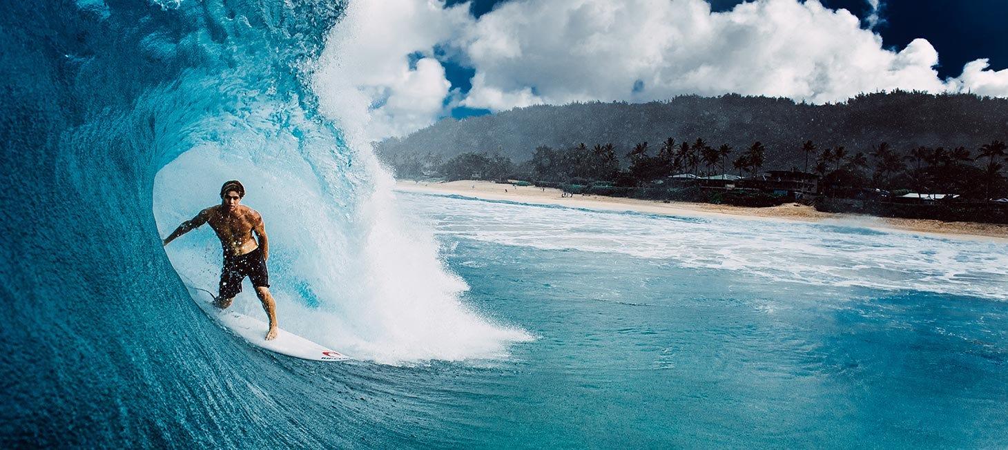 Morgan in Hawaii