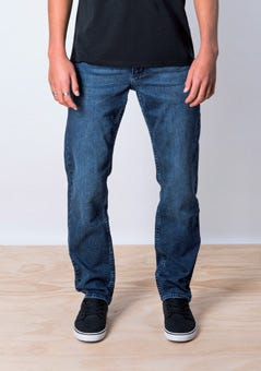 Straight Fit Denim